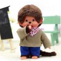 正版蒙奇奇公仔  男教练-S  毛绒玩具娃娃
