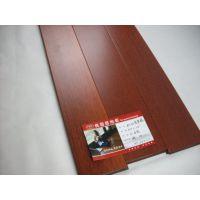 桃园居大菠萝格印茄木实木地板8028玫瑰红实木地板厂价直销