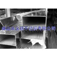 供应【23*48*0.95】304不锈钢拉丝矩形管||304不锈钢方管||佛山厂家