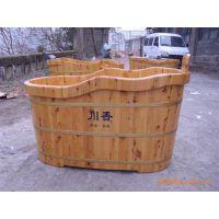 川湘木桶,1.3米香柏木双边洗浴桶,熏蒸桶,躺桶,足浴盆,泡脚桶