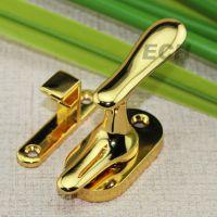 厂家批发 五金工程配件 锌合金窗锁 门窗扣锁