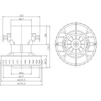 家电用电动机马达 motor减速马达 微型马达电动机