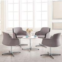 【卡格拉】大量批发2014爆款布面洽谈椅售楼中心椅 质量保证