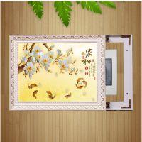 厂家直销 电表箱装饰画 推拉式电闸盒遮挡画 热销款电箱画 DX5970
