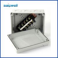 200*160*98自带塑料防水密封盒 开关仪表电缆接线盒 电源密封盒