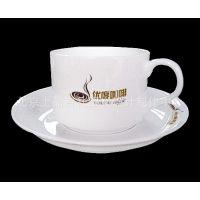 供应咖啡杯碟 骨质瓷咖啡杯碟 印照片咖啡杯碟 大量印LOGO咖啡杯碟