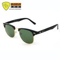 雷人经典复古太阳镜3016经典玻璃眼镜厂价批发男女同款太阳镜