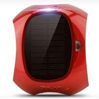 汽车用太阳能车载空气净化器加湿器车用负离子香薰家车两用除味