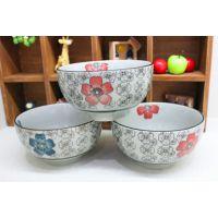 4.5寸米饭碗 韩式创意陶瓷外贸餐具套装 创意碗 和风碗瓷器