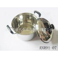 供应各种不锈钢炒锅,奶锅,油炸锅,汤锅等;