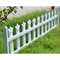 PVC塑钢花园栏杆草坪栅栏30CM高,可定做