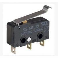 原装日本欧姆龙OMRON 热水器用行程限位位置微动开关 SS-5GL13