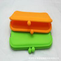 韩国糖果大号硅胶钱包 手机包 创意长款硅胶钱包批发7997 手拿包