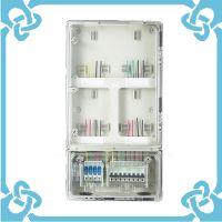 热卖单相四位机械式配电箱 小区用电表箱 ABS电表箱