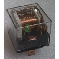 赛普供应汽车通用型80A透明双触点防水带灯继电器