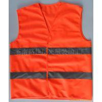 厂家 供应 交通安全服装 反光 背心 警示反光衣 可定做