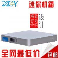 全国包邮 x-26y立式迷你冷轧钢板机箱 SGCC板材工控箱机箱