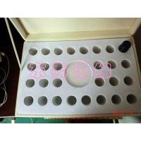 北京贴绒布EVA内衬盒/保健品包装盒植绒厂家