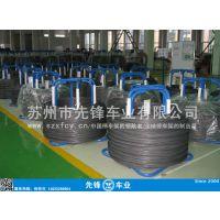 供应落地式收排放线架 钢丝盘圆架 钢丝运输架