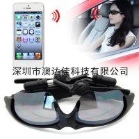 厂家直销接听通话 无线蓝牙眼镜耳机 立体声太阳镜蓝牙耳机