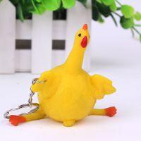 义乌稀奇古怪新奇特玩具 创意下蛋鸡挂件 搞笑整蛊玩具批发