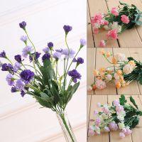 新款雪花丁香花6色可选仿真花绢花塑料花田园小把花束厂价直销