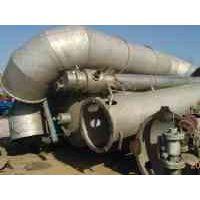 供应出售二手10吨三效降膜浓缩蒸发器二手8吨进口三效蒸发器