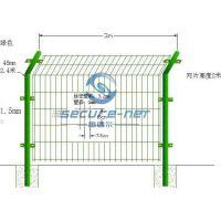 大量供应各种优质喷塑PVC电焊网护栏十到二十年免维护