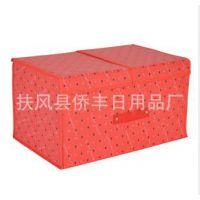 陕西厂家 无纺布折叠收纳箱收纳盒 新式韩版 衣物储物箱 一件代发