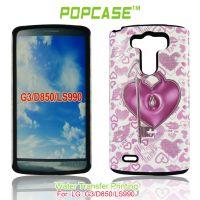 LG G3/D850 手机壳 彩绘PC+硅胶套 手机保护套 可来图订做水贴