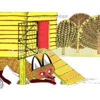 信谊世界精选图画书绘本 母鸡萝丝去散步 3-7岁儿童图书 精装版