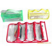 高频电压加工PVC材质 供应笔袋,化妆包,透明包