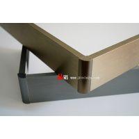 供应品铝P610-4蓝宝石拉丝铝合金踢脚线
