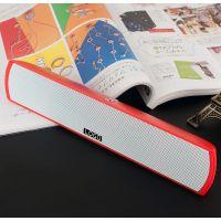 2.0条形一体音箱 便携式音箱 优质双色红蓝色LED灯光蓝牙迷你音箱