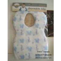 婴儿口水兜,一次性围嘴围兜,宝宝布兜,baby bibs 35*24