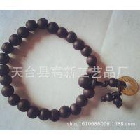 厂家特供2010自主研发制色木珠108佛珠手链仙游佛珠绿檀佛珠
