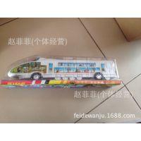 地摊惯性玩具火车 喷漆和谐号惯性列车回力玩具车 玩具