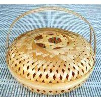 竹编工厂批发定做各种手工编织的水果竹篮子 礼品篮 花篮 果篮