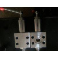 供应供应定制柱塞高压泵溢流调压阀