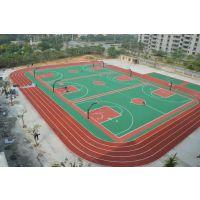 篮球场地坪漆施工 珠海篮球场面层施工 中山承接球场地胶公司