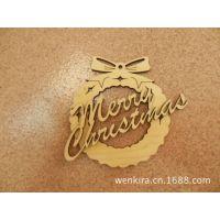 家居装饰 环保木质 创意圣诞节日挂件