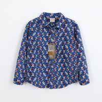 男童小汽车韩版衬衫 童装新款中小童衬衣2014新款 儿童春秋衬衫
