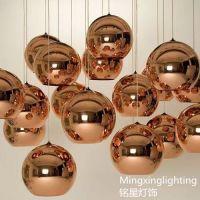 供应英国Mirror Ball Glass电镀玻璃圆球餐厅酒吧吊灯批发KTV过道吊灯