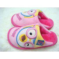 小牛贝贝棉拖 儿童室内保暖拖鞋 卡通棉拖鞋 卡通加厚加绒棉鞋