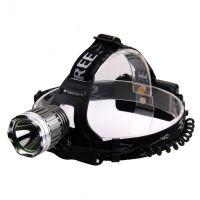 L2头灯强光远射18650充电 LED户外钓鱼灯矿灯强光头灯 1个起批