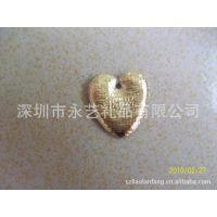 金色有孔爱心 贴海棉心型 超声波电压心型 玩具心型