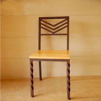 星巴克创意餐桌椅组合餐厅餐桌餐厅餐椅铁艺实木桌子