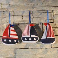 布艺挂件 创意家居饰品 地中海船挂饰礼物礼品 一件代发MA2743A-C