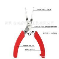 厂家直销 南冶 BX-A100有牙不锈钢小扁嘴钳尖嘴钳 可贴牌生产代工