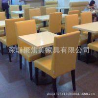 茶餐厅家具定做|茶餐厅桌子定做|聚焦美家具防火板桌子定做